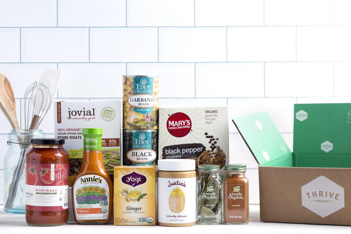 Thrive Market Box Items