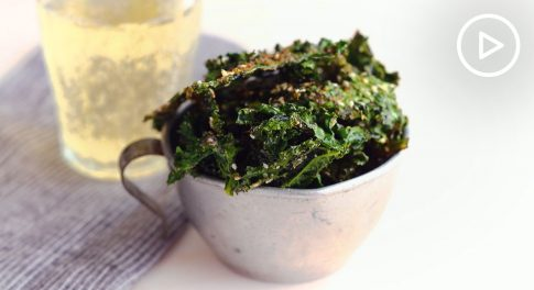 Everything-Bagel Kale Chips Recipe
