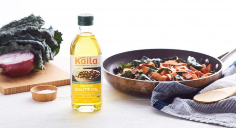 Finally! A Flavorful, Organic Cooking Oil That Can Take the Heat