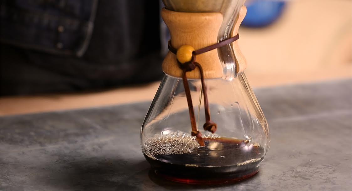 chemex brew coffee