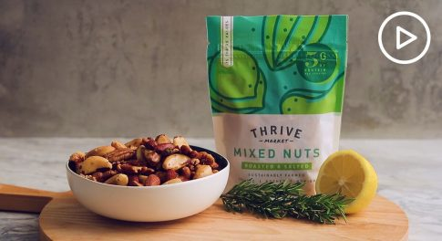 Rosemary and Lemon Spiced Nuts Recipe