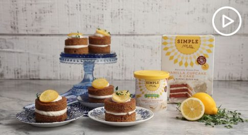 Mini Candied Meyer Lemon Cakes Recipe