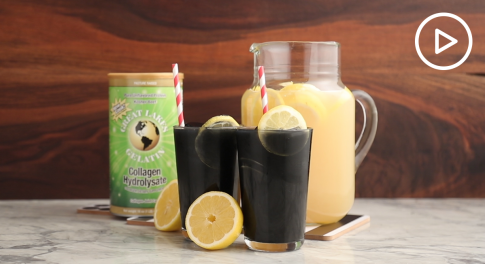 Activated Charcoal Lemonade Recipe With Collagen