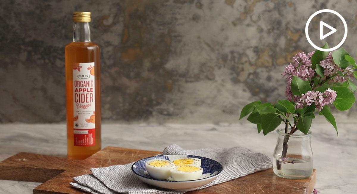 Hard Boiled Eggs With Apple Cider Vinegar Recipe Thrive