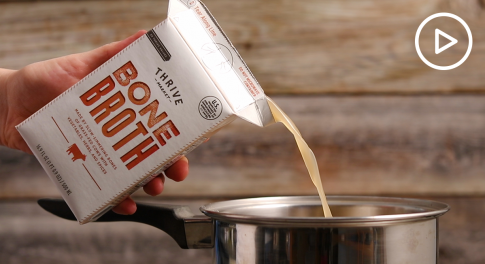 Grass-Fed Bone Broth Is Thrive Market's New Recipe to Help Combat Food Waste
