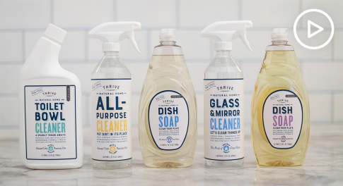 Just in Time for Spring Cleaning: Thrive Market's Line of Nontoxic Household Cleaning Products