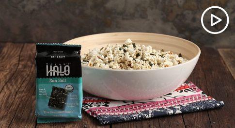 Seaweed Popcorn Recipe