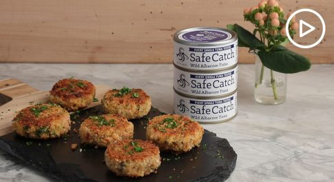 Tuna Cakes With Spicy Remoulade Sauce Recipe