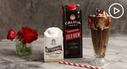 Coffee Soda Float With Non-Dairy Ice Milk Recipe