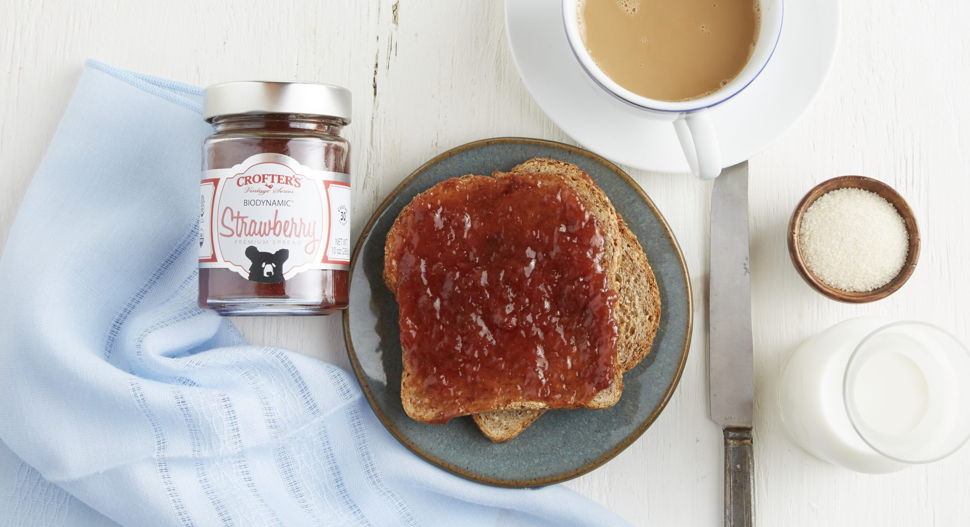 If Sustainable Farming and Fruity Flavor Are Your Jam, You'll Love These Spreads from Crofter's Organic