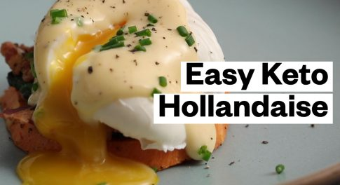 Keto and Whole30 Rosemary Hollandaise Sauce Recipe