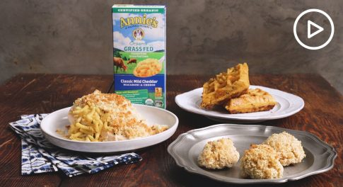 Annie's Organic Macaroni and Cheese Three Ways