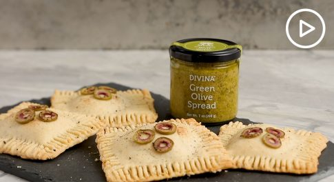 Green Olive Hand Pie Recipe