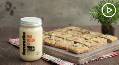 Gluten-Free Focaccia Bread With Beef Tallow Recipe