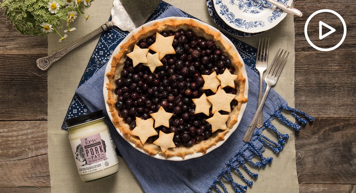 Paleo Blueberry Pie Recipe