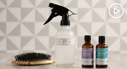 Keep the Vacation Vibes Going With This Easy DIY Sea Salt Hairspray