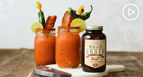 Jalapeño Bone Broth Bloody Mary Recipe