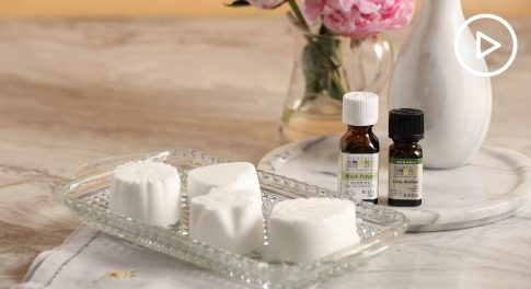 Make Your Shower Even More Relaxing With DIY Essential Oil Pods