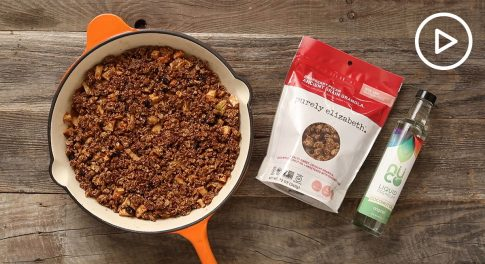 Cranberry Pecan Apple Crumble Recipe