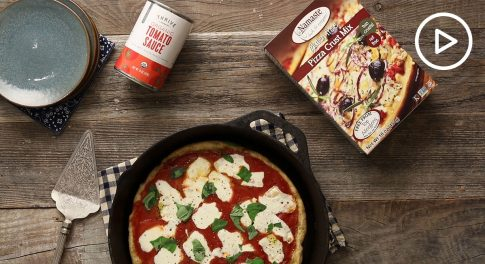 Gluten-Free Skillet Pizza Recipe