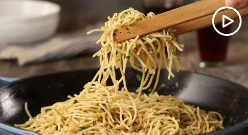 Gluten-Free Spaghetti With Bagna Cauda Recipe