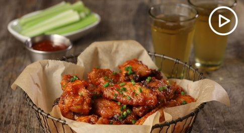 Baked Chicken Wings With Annie's Special Sauce Recipe