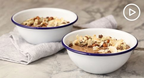 Warm Cacao Smoothie Bowl Recipe