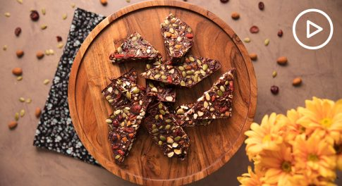 Maca Chocolate Bark Recipe