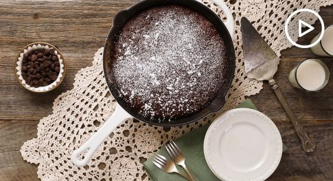 Allergen-Free Skillet Brownies Recipe