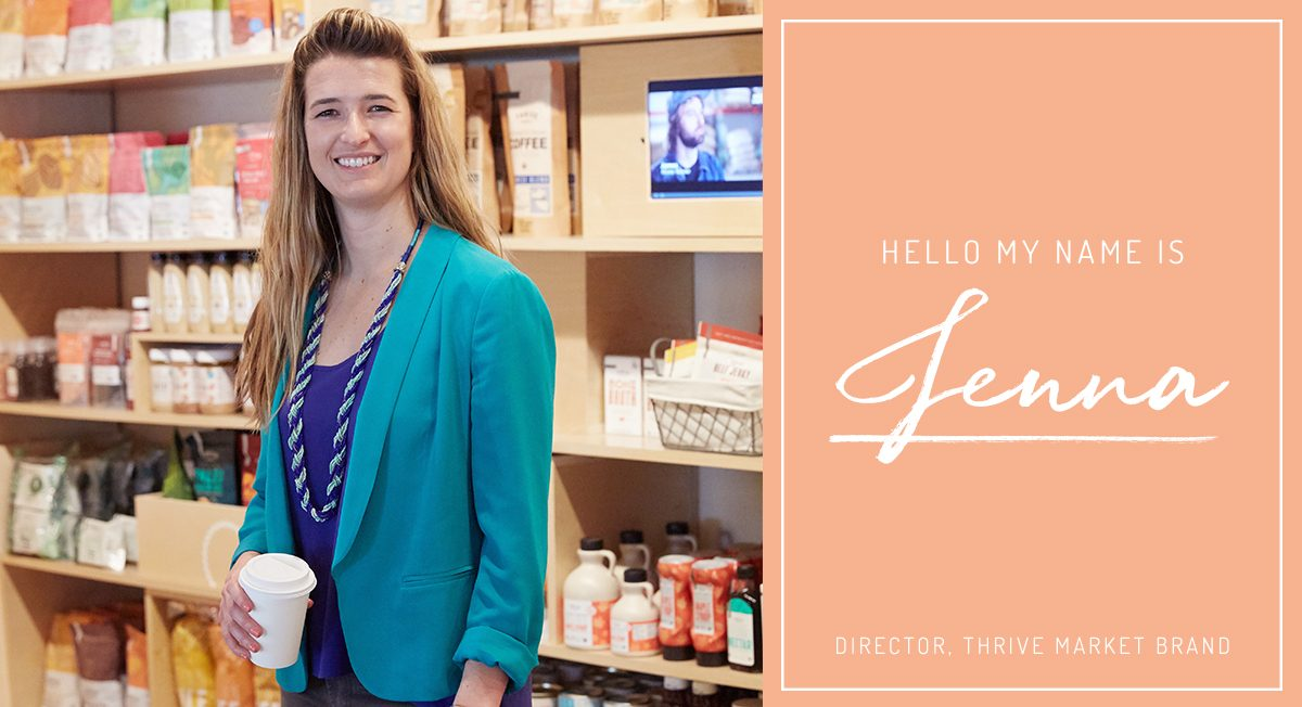 Startup Stories: Q&A With Thrive Market Brand Director Jenna Engleman