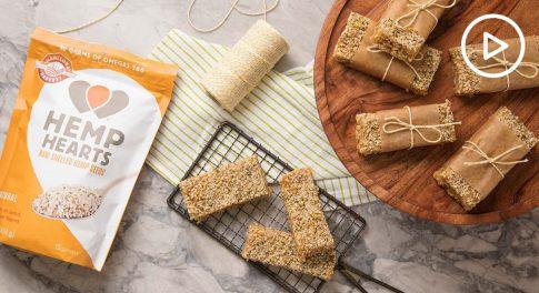 Hemp Macadamia Raw Bars Recipe