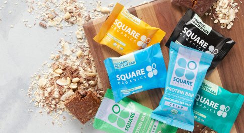 For a Protein-Powered Snack, Square Organics Has the Recipe