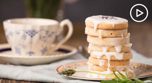Lavender Honey Tea Cookies Recipe