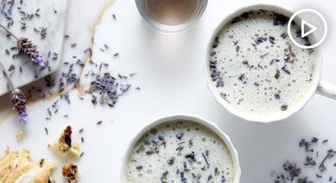 Lavender Wellness Latte Recipe