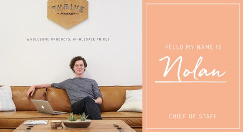 Startup Stories: Q&A With Thrive Market Chief of Staff Nolan Green