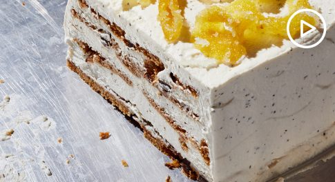 Earl Grey Ice Box Cake Recipe
