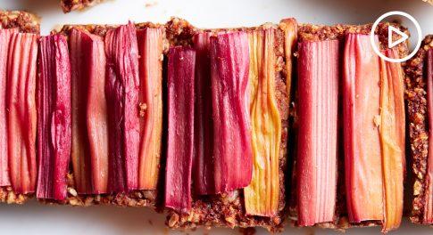 Rhubarb Bars Recipe