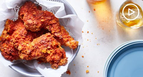 Oven-Fried Hot Chicken Recipe