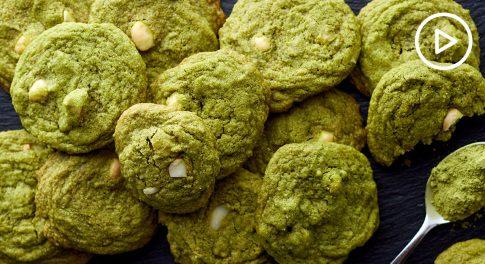 Matcha Macadamia Cookies Recipe