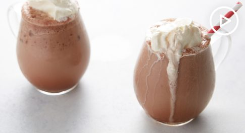 Frozen Mint Hot Chocolate Recipe