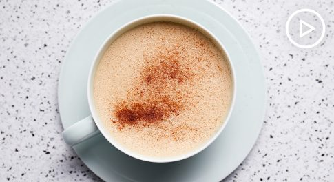 Chocolate Hazelnut Latte Recipe