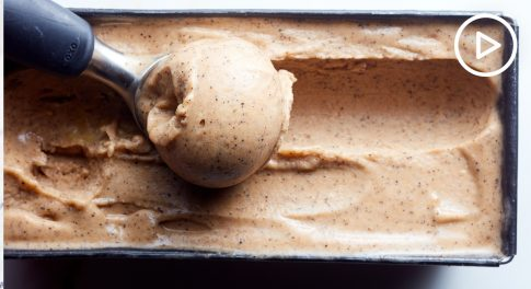 Banana Cold Brew Vegan Ice Cream Recipe