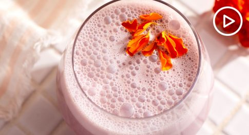 Hibiscus Rose Moon Milk Recipe