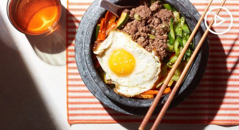 Bibimbap Bowl Recipe
