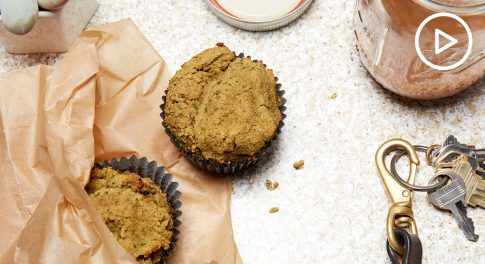 Salted Caramel Power Muffins Recipe