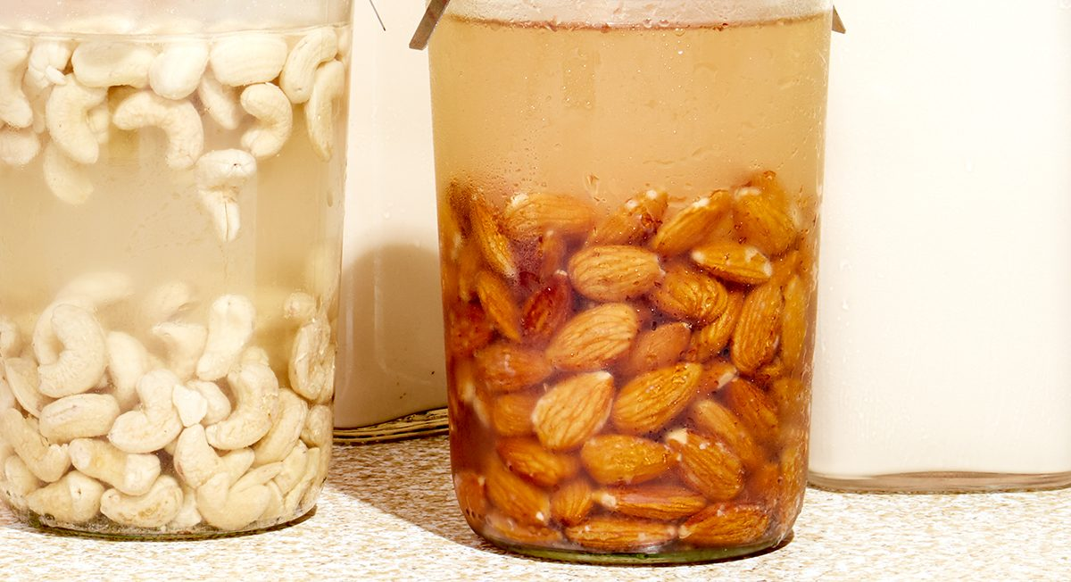 CASHEW MILK VS ALMOND MILK