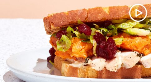 Paleo Leftover Thanksgiving Sandwich Recipe