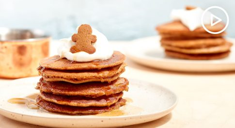 Gluten-Free Gingerbread Pancakes Recipe