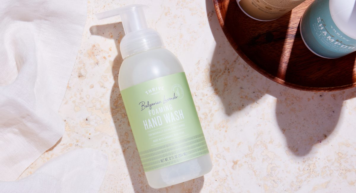 Lavender Foaming Hand Wash