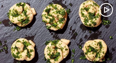Paleo Garlic Oil Knots Recipe